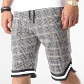 /achat-shorts-jogging/john-h-short-a-carreaux-sh01-gris-blanc-185393.html