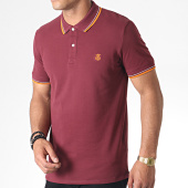 /achat-polos-manches-courtes/selected-polo-manches-courtes-new-season-bordeaux-orange-185270.html