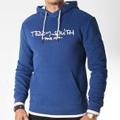 /achat-sweats-capuche/teddy-smith-sweat-capuche-siclass-bleu-blanc-185469.html