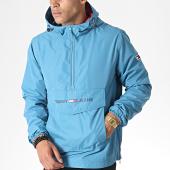 /achat-vestes/tommy-jeans-veste-outdoor-light-weight-popover-6487-bleu-canard-185372.html