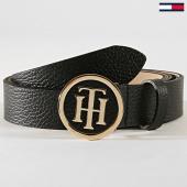 /achat-ceintures/tommy-hilfiger-ceinture-femme-round-buckle-5366-noir-dore-185403.html