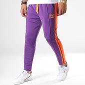 /achat-pantalons-joggings/uniplay-pantalon-jogging-a-bandes-upp41-violet-orange-noir-185439.html