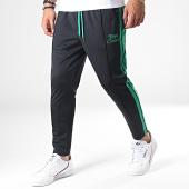 /achat-pantalons-joggings/uniplay-pantalon-jogging-a-bandes-upp41-noir-vert-185440.html