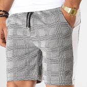 /achat-shorts-jogging/aarhon-short-jogging-carreaux-avec-bandes-18-047-gris-blanc-noir-185681.html