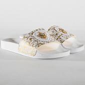 /achat-claquettes-sandales/cash-money-claquettes-cms-01-bee-white-gold-185520.html