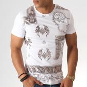 /achat-t-shirts/classic-series-tee-shirt-knz-05-blanc-argente-185545.html