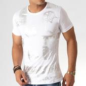 /achat-t-shirts/classic-series-tee-shirt-knz-05-blanc-argente-185547.html