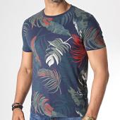 /achat-t-shirts/classic-series-tee-shirt-mk-18126-bleu-marine-floral-185600.html
