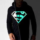 /achat-sweats-capuche/superman-sweat-capuche-glow-in-the-dark-noir-185485.html