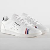 /achat-baskets-basses/le-coq-sportif-baskets-femme-courtstar-gs-sport-bbr-1920228-optical-white-dress-blue-185665.html