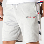 /achat-shorts-jogging/tommy-sport-short-jogging-a-bandes-knit-0135-gris-chine-185557.html