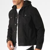 /achat-vestes/brave-soul-veste-jean-capuche-marco-noir-185802.html
