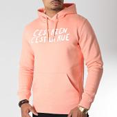 /achat-sweats-capuche/cest-rien-cest-la-rue-sweat-capuche-logo-saumon-185787.html