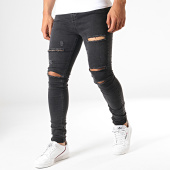 /achat-jeans/gianni-kavanagh-jean-skinny-ripped-noir-185699.html