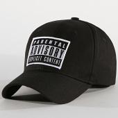 /achat-casquettes-de-baseball/parental-advisory-casquette-patch-noir-185785.html