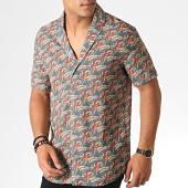 /achat-chemises-manches-courtes/classic-series-chemise-manches-courtes-1457-vert-orange-185851.html