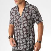 /achat-chemises-manches-courtes/classic-series-chemise-manches-courtes-1457-noir-blanc-185852.html