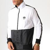 /achat-vestes/wrung-veste-zippee-a-bandes-slam-blanc-noir-185826.html