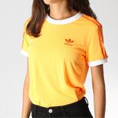 /achat-t-shirts/adidas-tee-shirt-femme-3-stripes-ed7475-orange-186086.html