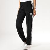 /achat-pantalons-joggings/adidas-pantalon-jogging-femme-a-bandes-firebird-ed7508-noir-186087.html