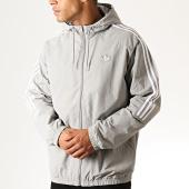 /achat-vestes/adidas-veste-zippee-capuche-a-bandes-outline-trefoil-ed4689-gris-186097.html