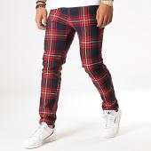 /achat-pantalons-carreaux/mtx-pantalon-a-carreaux-230-rouge-bleu-marine-185983.html
