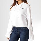 /achat-sweats-capuche/reebok-sweat-capuche-femme-avec-bandes-classic-vector-eb4247-blanc-185972.html
