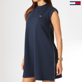 /achat-robes/tommy-jeans-robe-femme-a-line-piping-6730-bleu-marine-186107.html