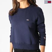 /achat-sweats-col-rond-crewneck/tommy-jeans-sweat-crewneck-femme-classics-6926-bleu-marine-186131.html