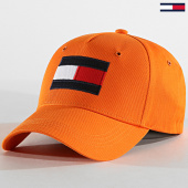 /achat-casquettes-de-baseball/tommy-hilfiger-casquette-baseball-big-flag-4508-orange-186139.html