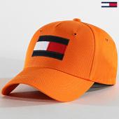 /achat-casquettes-de-baseball/tommy-hilfiger-casquette-baseball-big-flag-4508-orange-186139.html