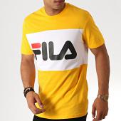 /achat-t-shirts/fila-tee-shirt-day-681244-jaune-blanc-186219.html