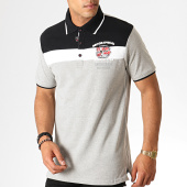 /achat-polos-manches-courtes/geographical-norway-polo-manches-courtes-kaspirite-gris-chine-noir-186238.html