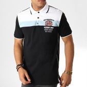 /achat-polos-manches-courtes/geographical-norway-polo-manches-courtes-kaspirite-noir-blanc-186241.html