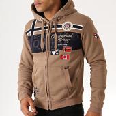 /achat-sweats-zippes-capuche/geographical-norway-sweat-zippe-capuche-garadock-marron-186281.html