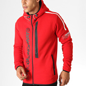 /achat-sweats-zippes-capuche/geographical-norway-veste-zippee-capuche-freestyle-rouge-186289.html