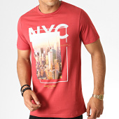 /achat-t-shirts/jack-and-jones-tee-shirt-cool-city-rouge-brique-186179.html
