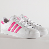 /achat-baskets-basses/adidas-baskets-femme-coast-star-ee7464-footwear-white-shock-pink-186256.html