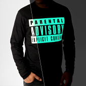 /achat-t-shirts-manches-longues/parental-advisory-tee-shirt-manches-longues-glow-in-the-dark-noir-186169.html