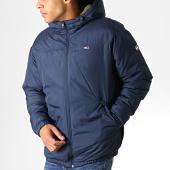 /achat-parkas/tommy-jeans-anorak-essential-6486-bleu-marine-vert-kaki-186268.html
