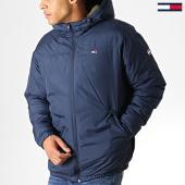 /achat-vestes/tommy-jeans-anorak-essential-6486-bleu-marine-vert-kaki-186268.html