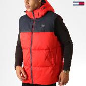 /achat-doudounes/tommy-hilfiger-jeans-doudoune-sans-manches-fabric-mix-6653-rouge-bleu-brut-186270.html