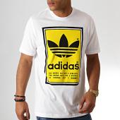 /achat-t-shirts/adidas-tee-shirt-filled-label-ed6937-blanc-jaune-186306.html