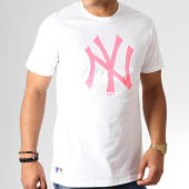 /achat-t-shirts/new-era-tee-shirt-mlb-core-neon-logo-12070291-blanc-rose-fluo-186315.html