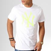 /achat-t-shirts/new-era-tee-shirt-mlb-core-neon-logo-12070293-blanc-jaune-fluo-186317.html