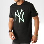 /achat-t-shirts/new-era-tee-shirt-mlb-core-neon-logo-12070294-noir-vert-fluo-186318.html