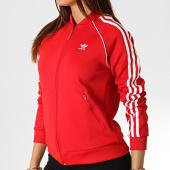 /achat-vestes/adidas--veste-zippee-femme-a-bandes-sst-ed7588-rouge-blanc-186405.html