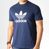 /achat-t-shirts/adidas--tee-shirt-trefoil-ed4715-bleu-marine-blanc-186479.html