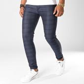 /achat-pantalons-carreaux/black-needle-pantalon-a-carreaux-1014-bleu-fonce-noir-186441.html