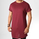 /achat-t-shirts-longs-oversize/frilivin-tee-shirt-oversize-2074-bordeaux-186432.html